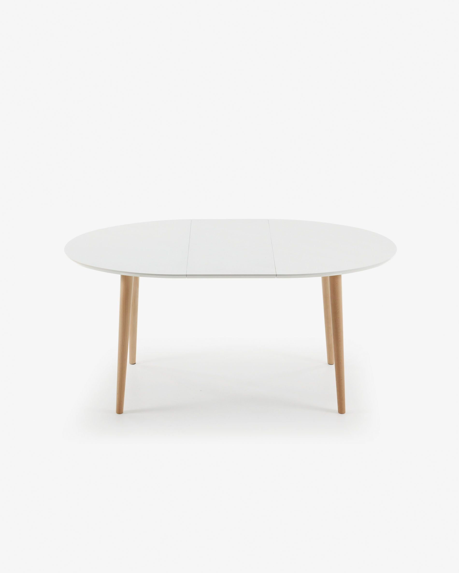 Achat Table Charmant Oqui Extendable Oval Table 120 200 X 90 Cm White