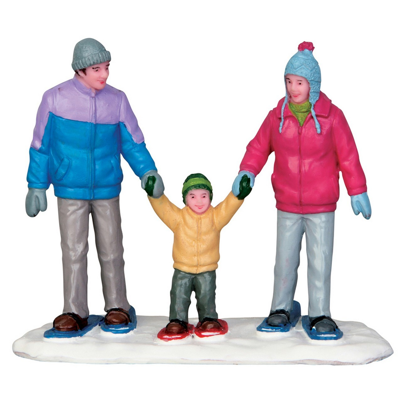 snowshoe family LEMAX from alles mini