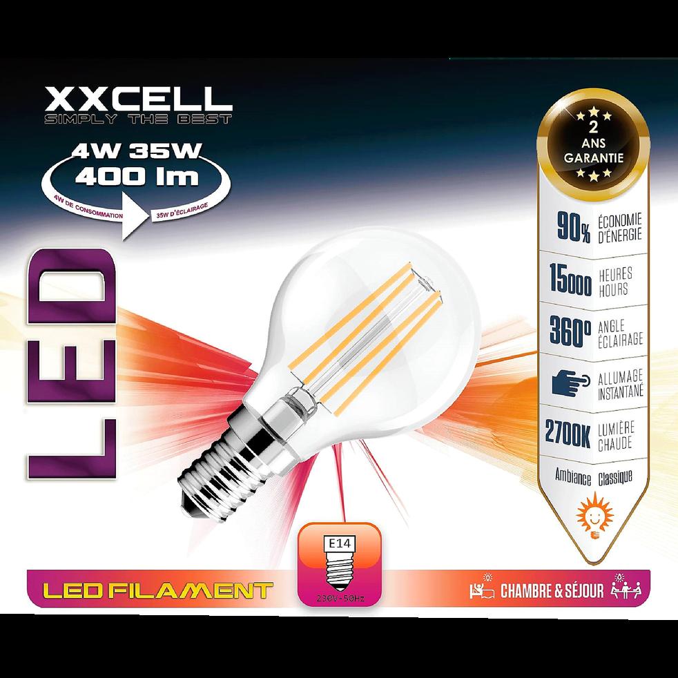 LED FILAMENT E14 AMP SPHERE F 1