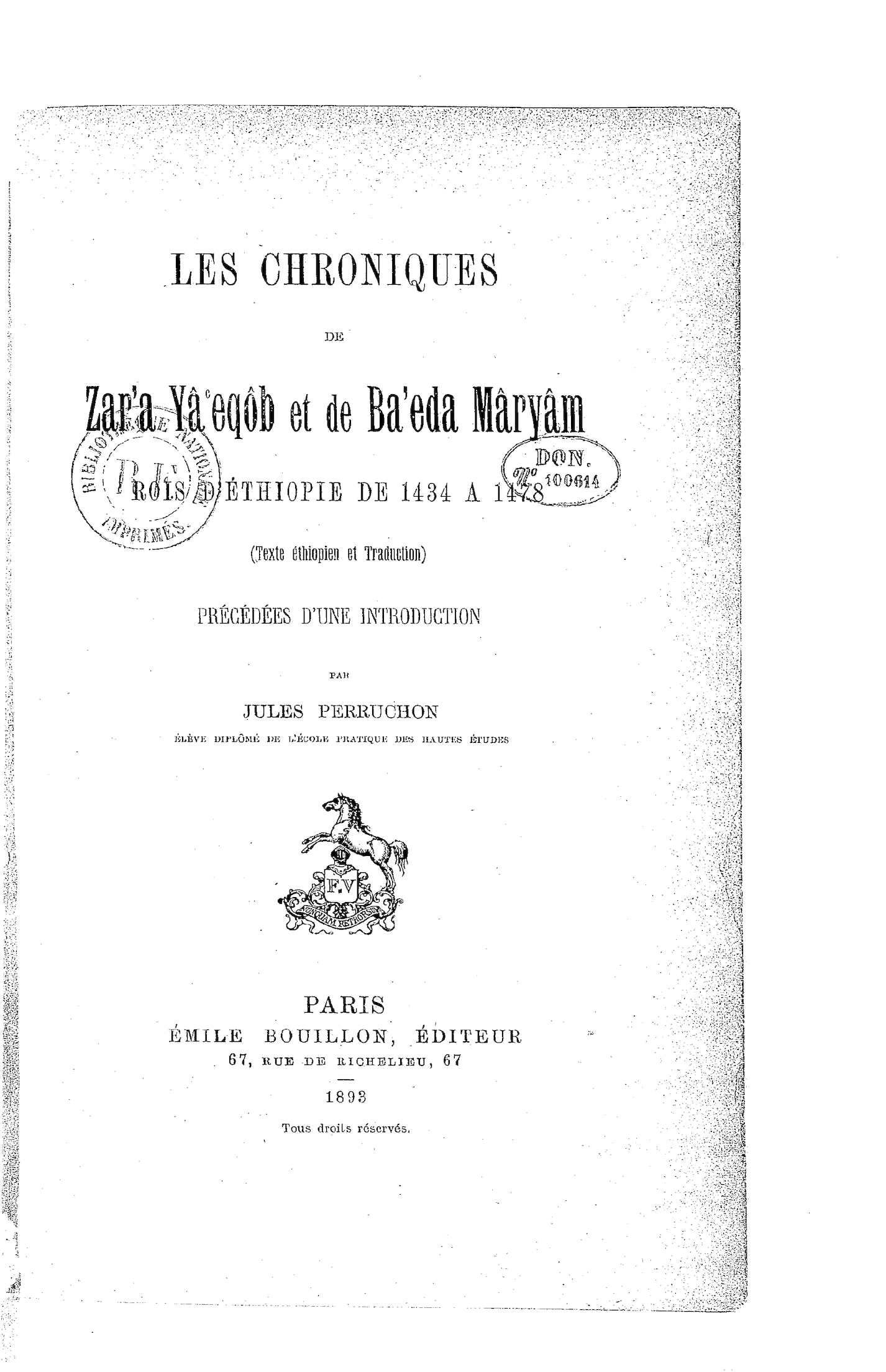 Alinéa Table Salle à Manger Charmant Calaméo Les Chroniques De Zara Ya Eqob Roi D Ethiopie 1434