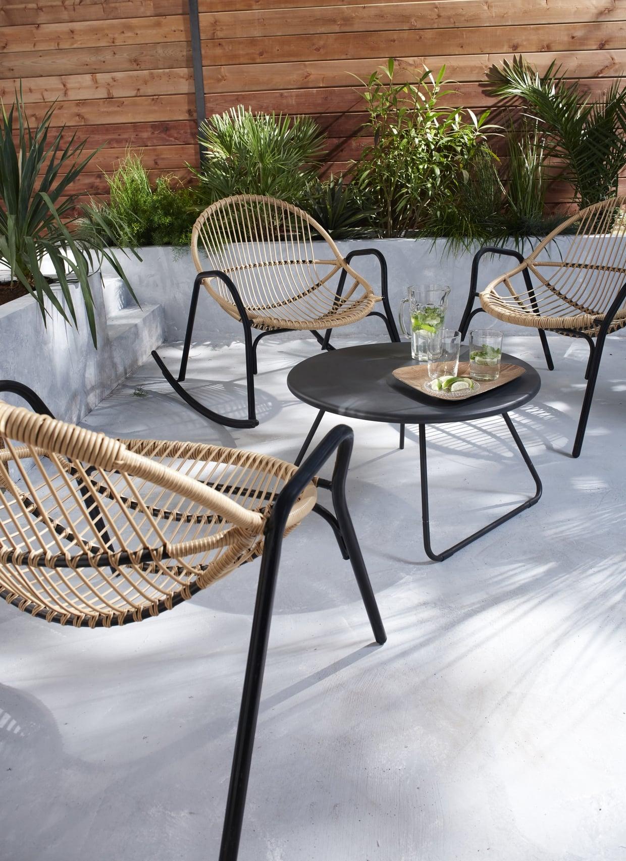 la redoute salon de jardin resine tressee salon de jardin castorama idees de dcoration 3