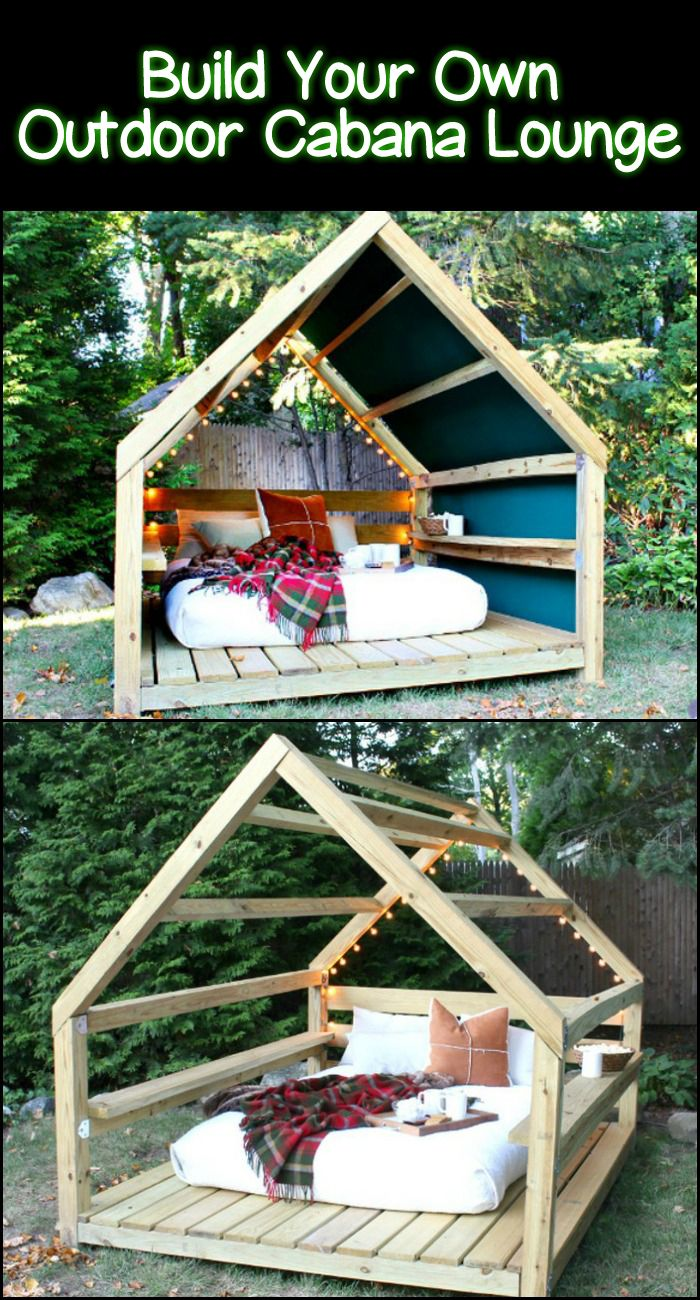 Ameublement Jardin Luxe Unwind In Your Backyard with This Cozy Diy Outdoor Cabana Of 32 Nouveau Ameublement Jardin