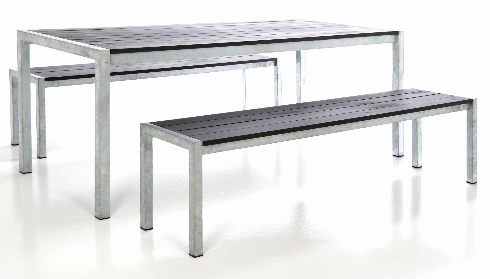Banc De Jardin Aluminium Beau Table Et Banc Pour Terrasse