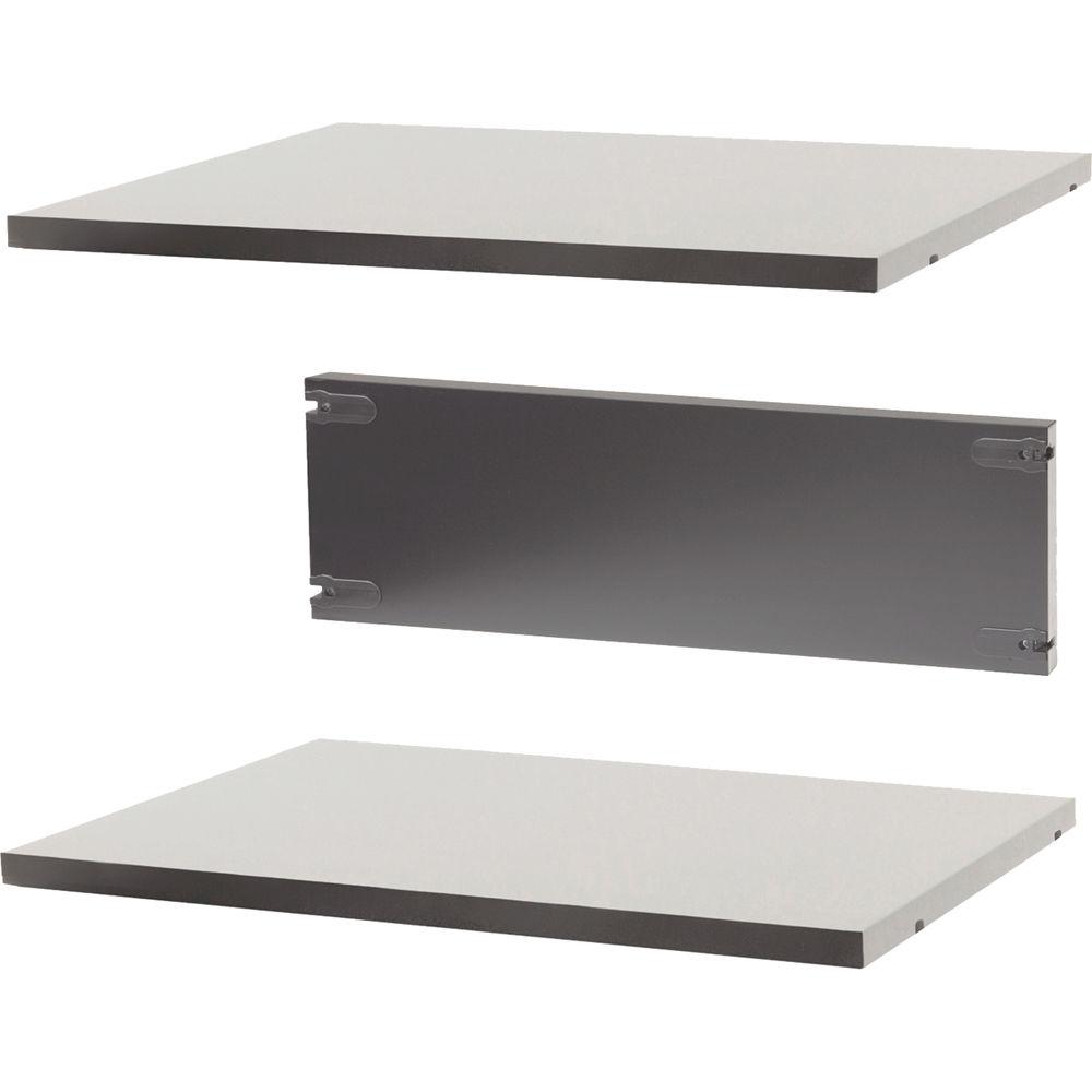argosy pair shelf two internal shelves for