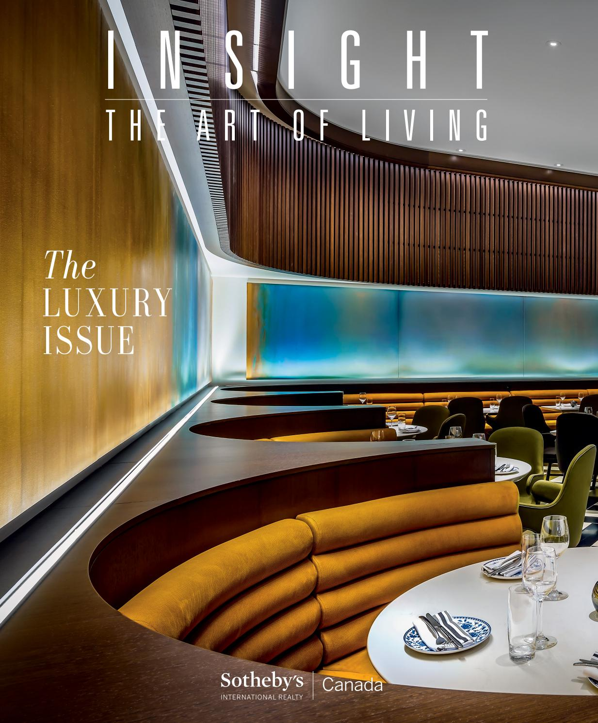 Bar De Jardin En Bois Génial Insight the Art Of Living Fall 2019 by sotheby S Of 36 Luxe Bar De Jardin En Bois