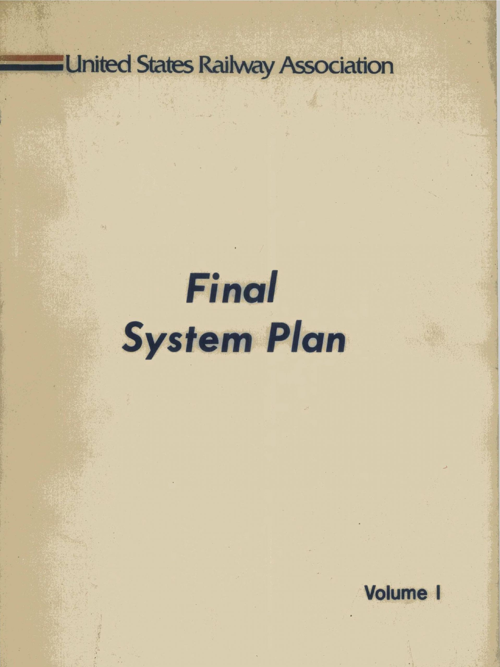 Barnum Brico Depot Nouveau Final System Plan Volume I by United States Railway Of 34 Beau Barnum Brico Depot