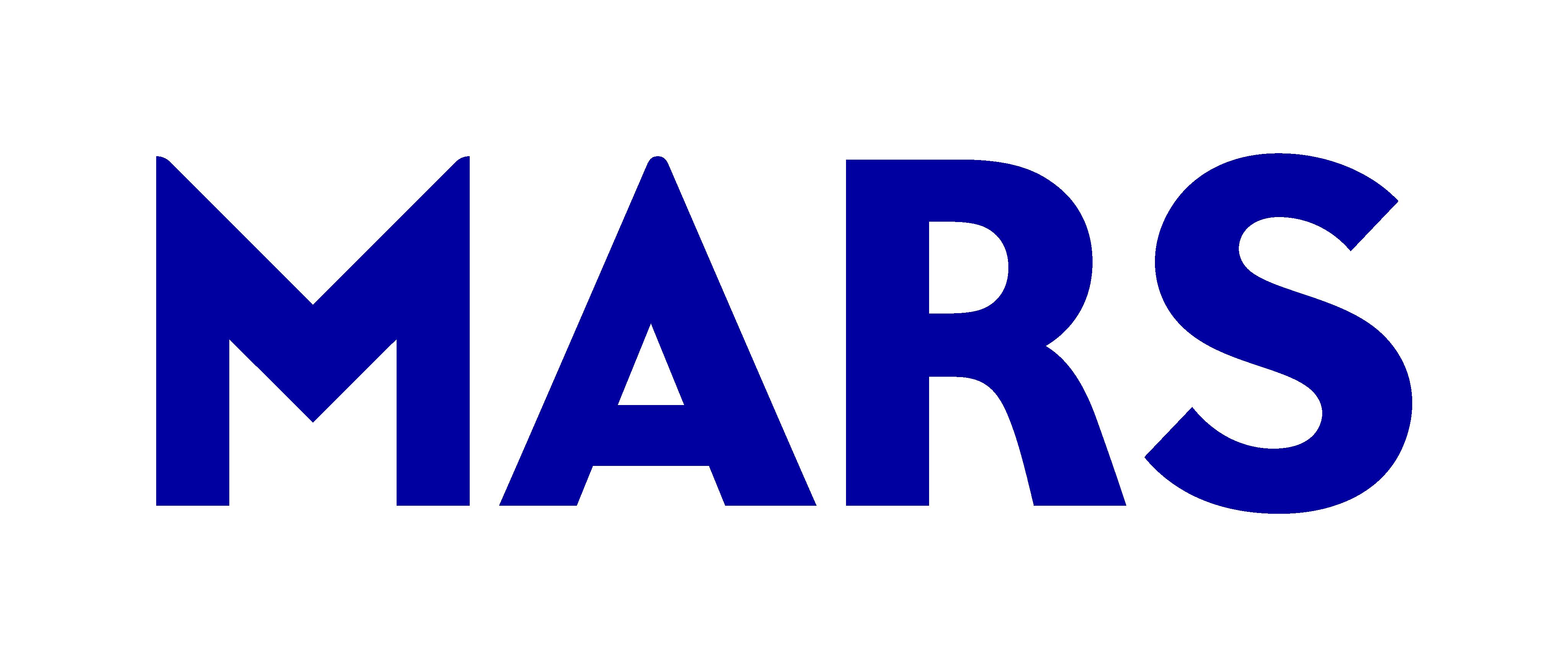 Mars Wordmark RGB Blue