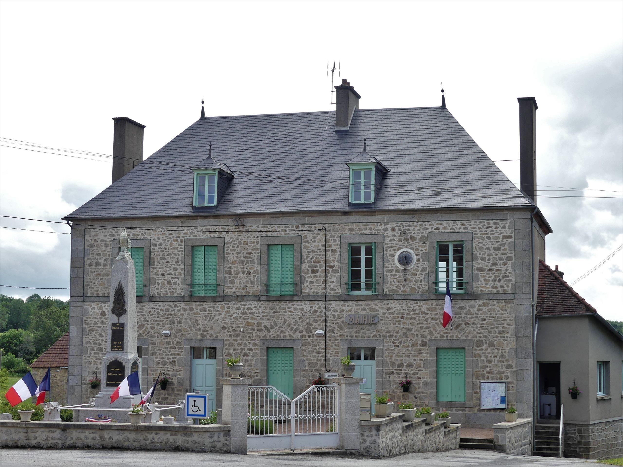 Issoudun Létrieix mairie