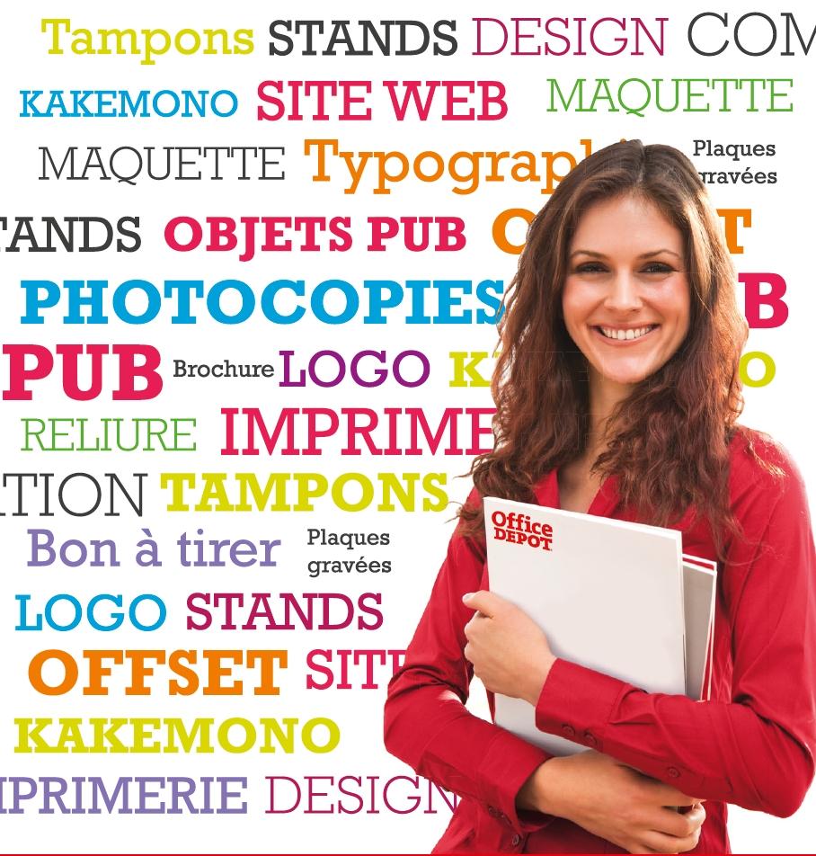 Service Copie Imprimerie fice DEPOT