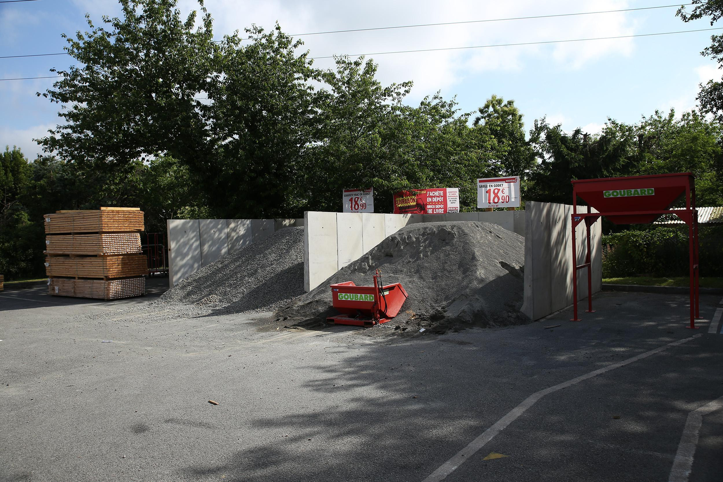 gravier en vrac brico depot genial store banne brico depot andilly galerie of gravier en vrac brico depot