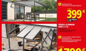 39 Génial Brico Depot Pergola Aluminium