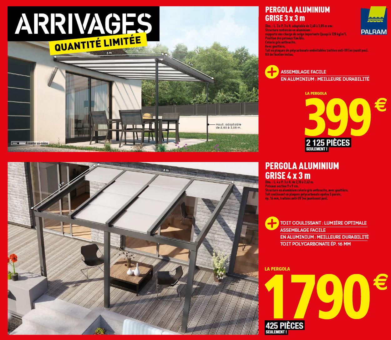 Brico Depot Pergola Aluminium Inspirant toit Terrasse Brico Depot