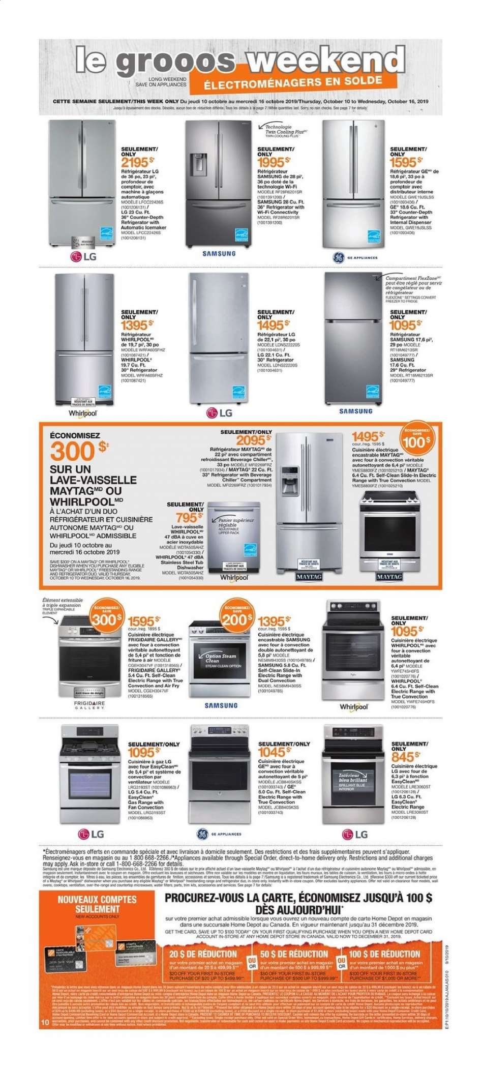 Brico Depot Portugal Best Of Current the Home Depot Flyer October 10 2019 October 16 Of 26 Beau Brico Depot Portugal