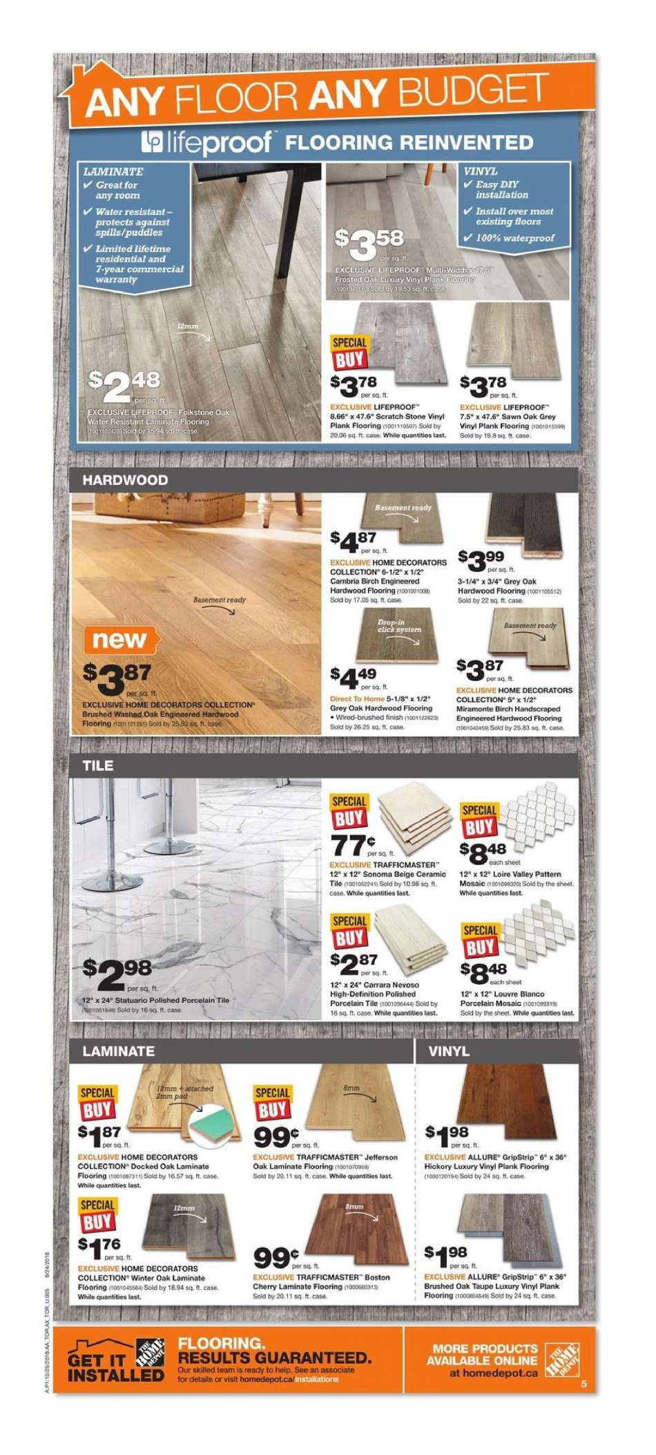 Brico Depot Portugal Best Of Current the Home Depot Flyer October 25 2018 October 31 Of 26 Beau Brico Depot Portugal
