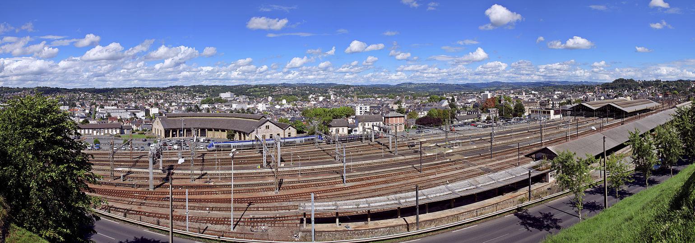 1540px Vue panoramique de Brive la Gaillarde