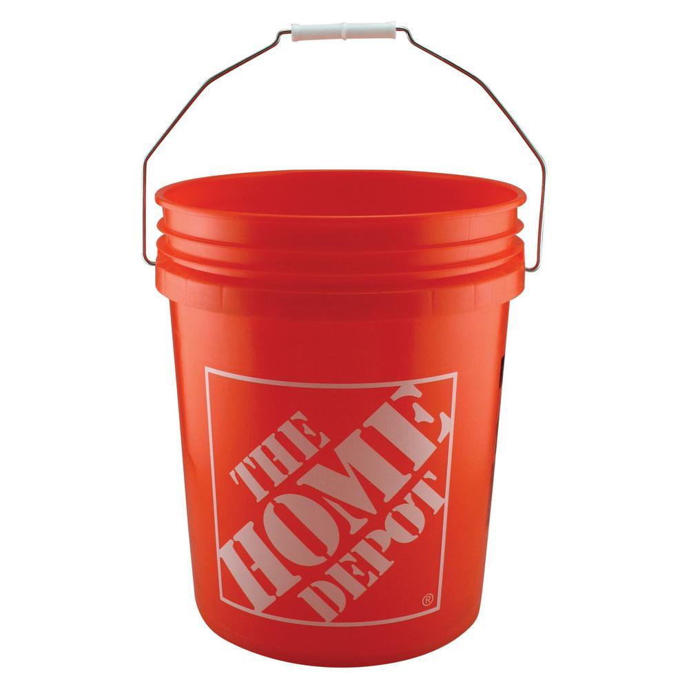 the home depot paint buckets lids 05glhd2 64 1000