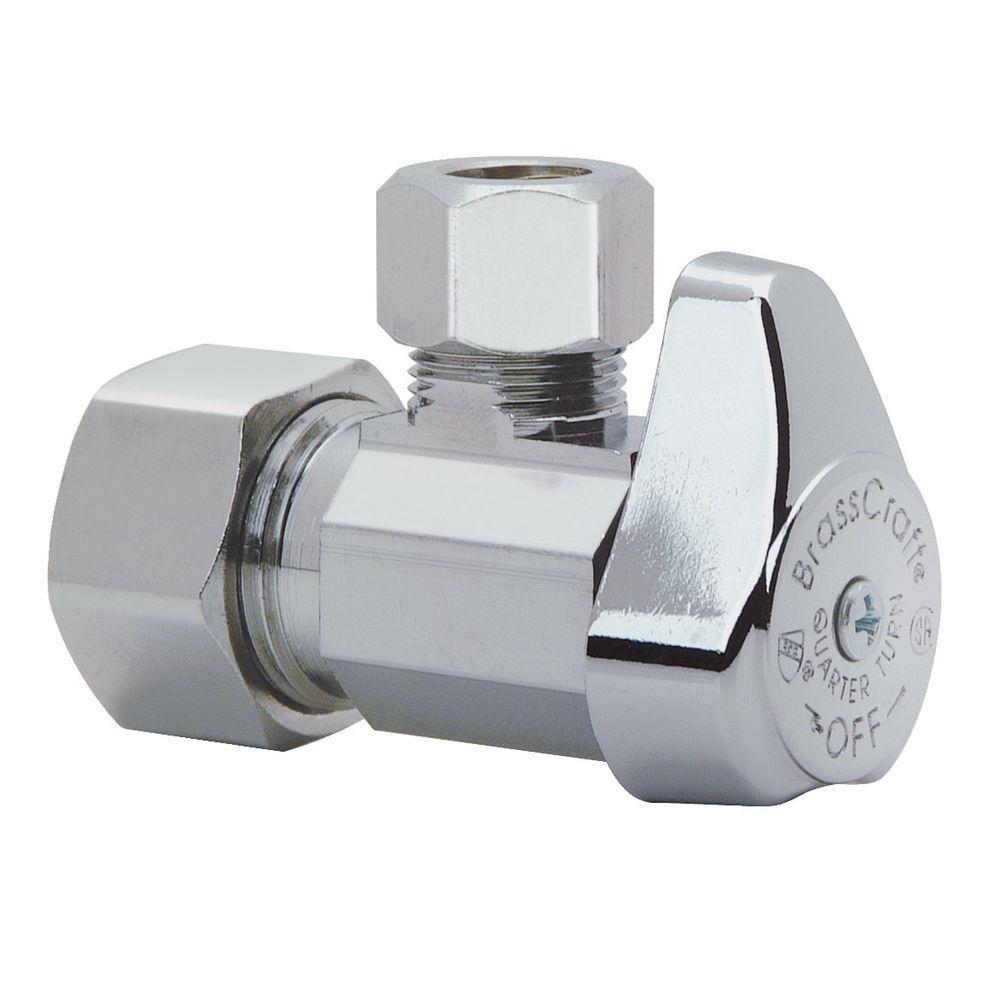 chrome plated brass brasscraft shut off valves g2cr19x c1 64 1000