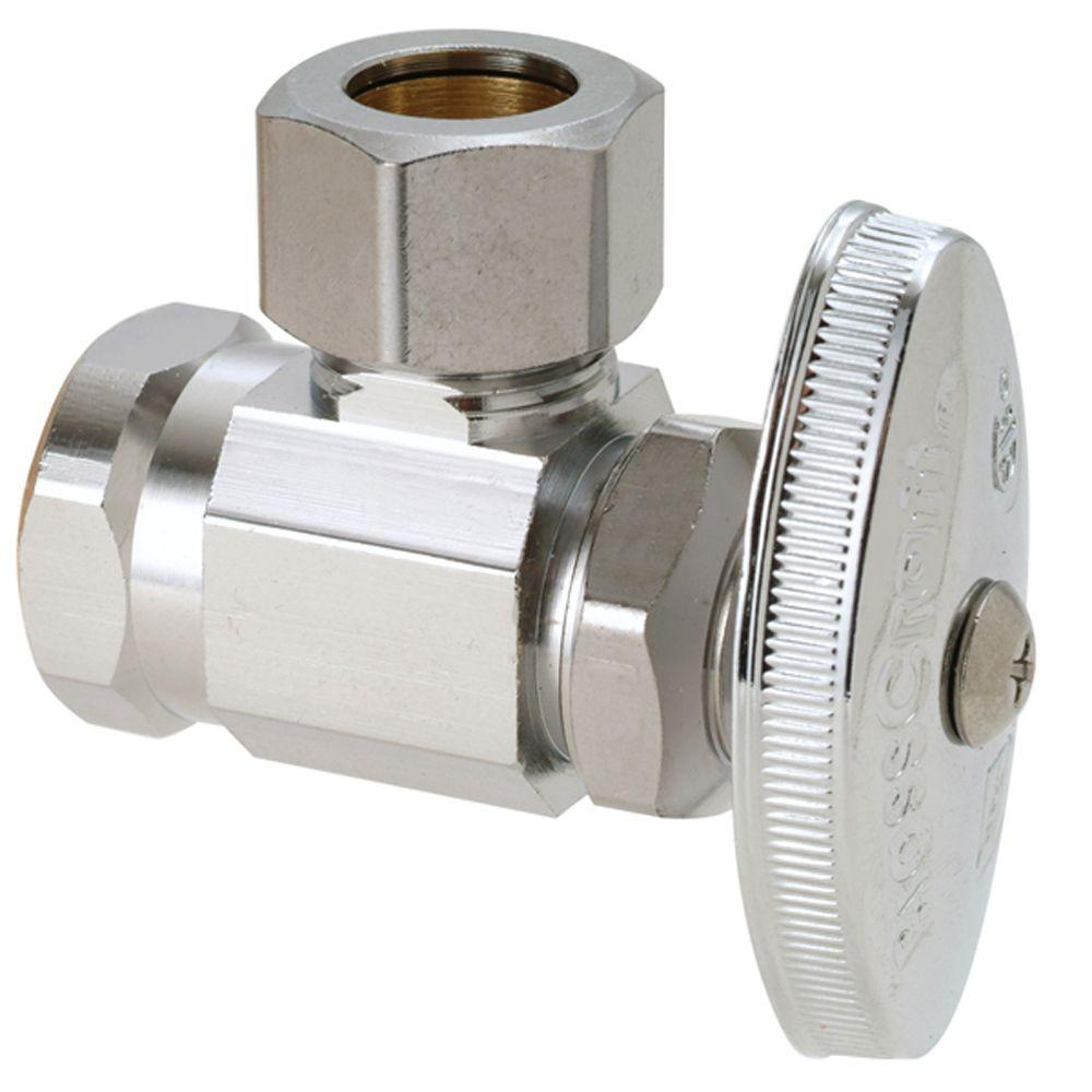 chrome brasscraft shut off valves or37x c1 64 1000