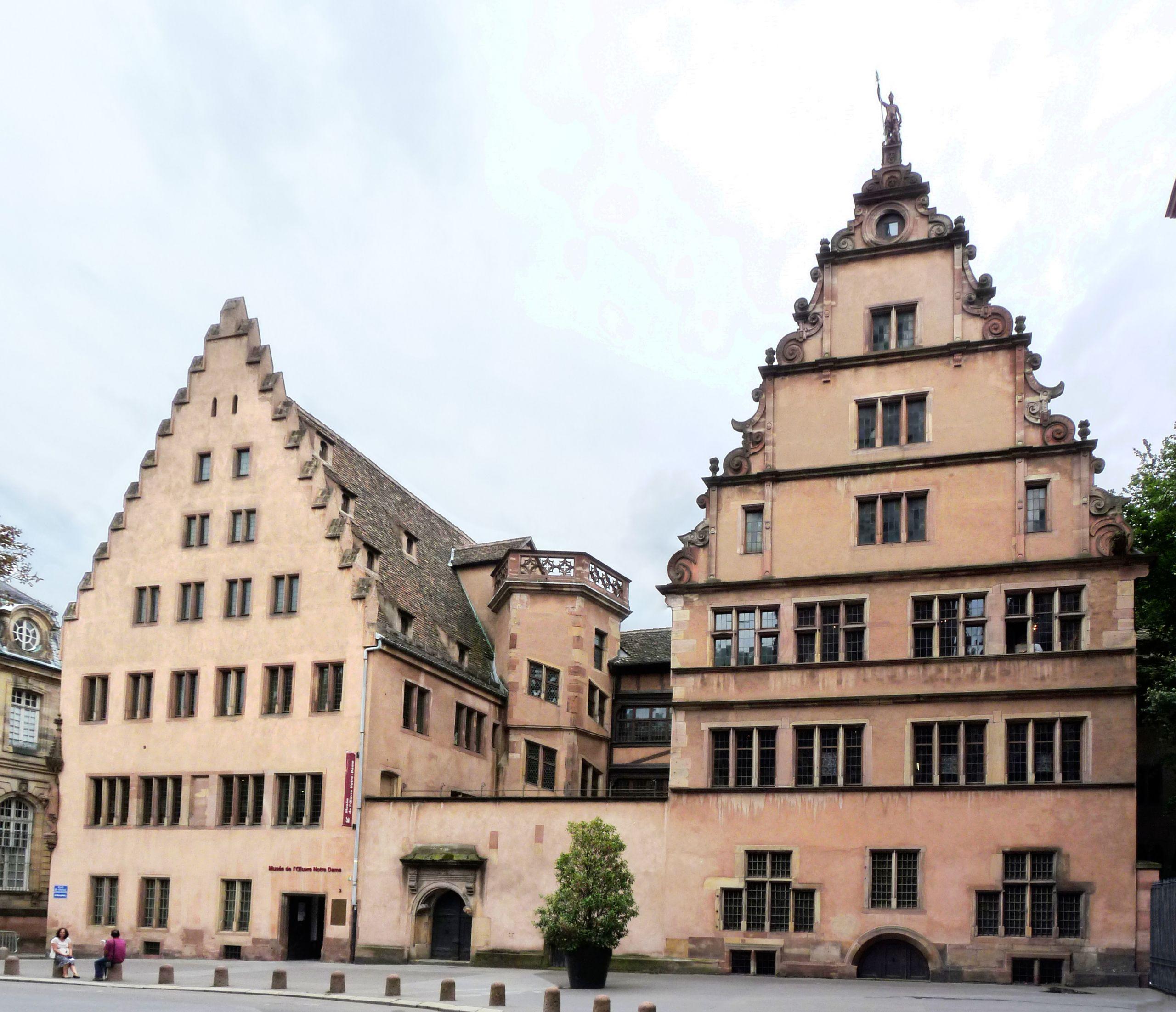 Strasbourg Musée de l Œuvre Notre Dame