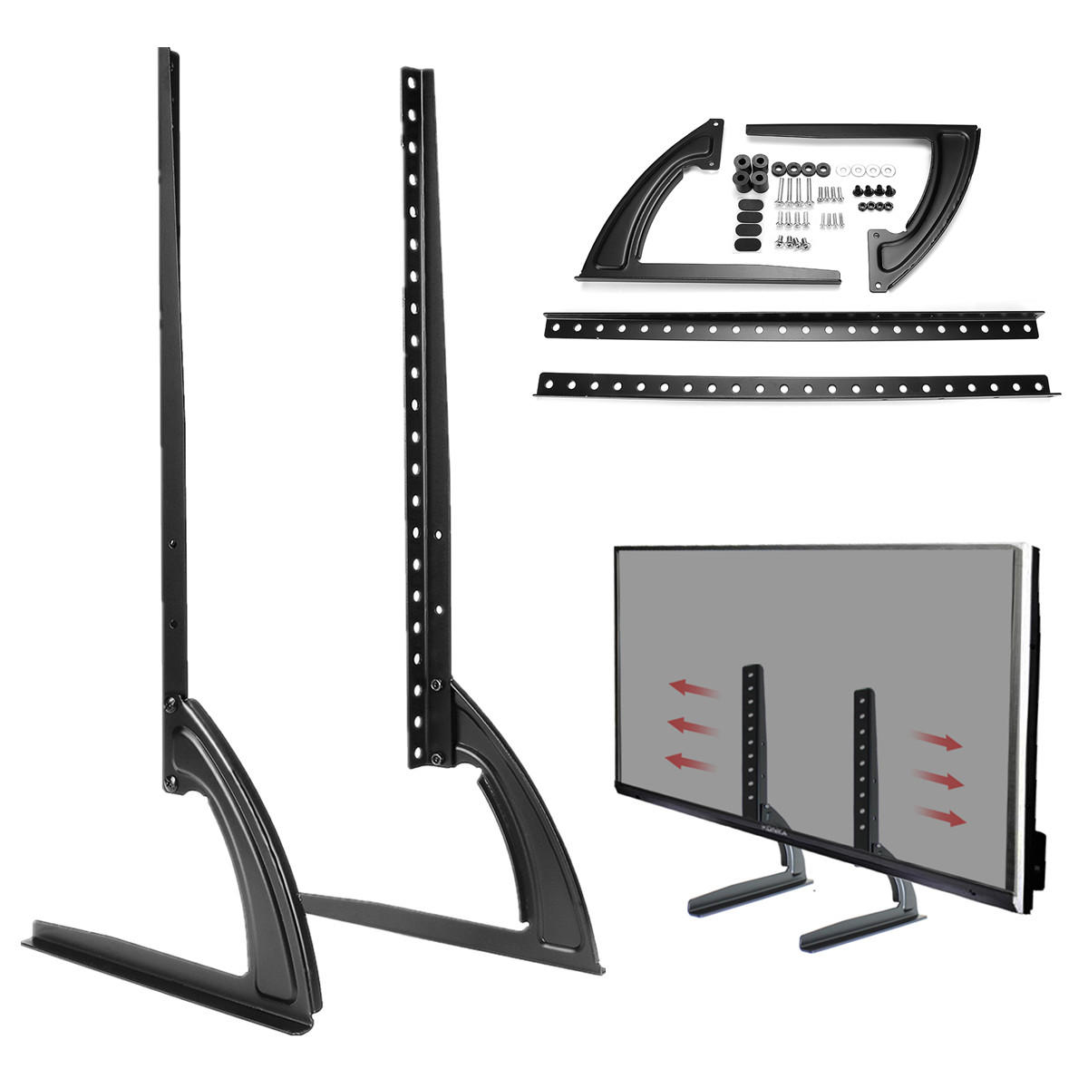 C Discount Tv Charmant Universal Table top Tv Stand Legs for Led Lcd Plasma Flat Screen Tv 26 65inch Of 23 Inspirant C Discount Tv