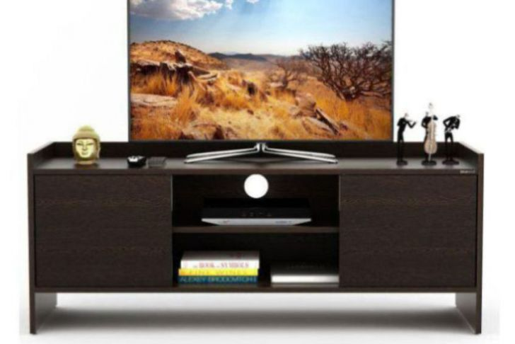 C Discount Tv Frais Bluewud Charley Tv Entertainment Unit Table Set top Box Stand