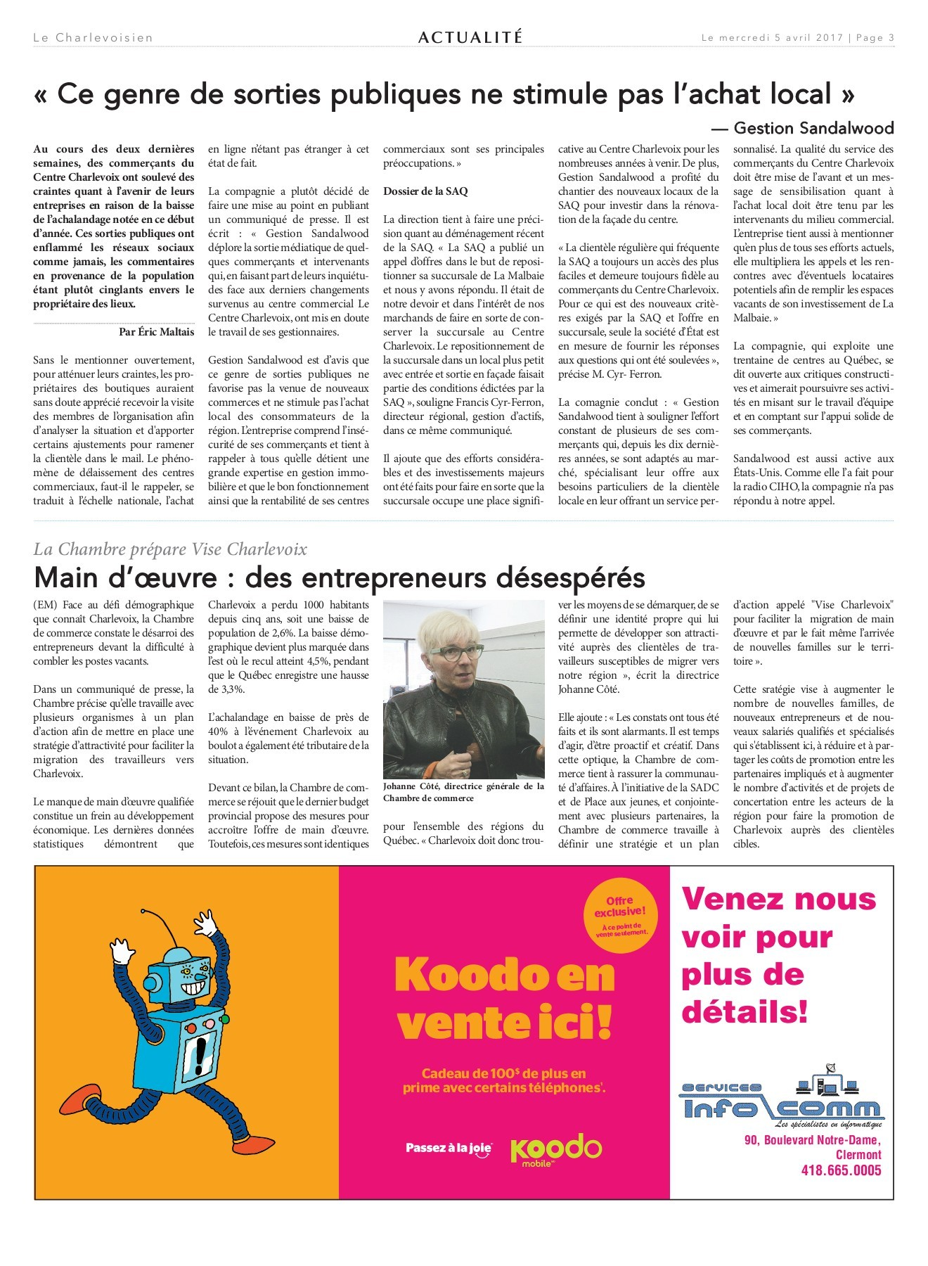 Cadeau Leclerc Génial Le Charlevoisien 5 Avril 2017 Pages 1 32 Text Version Of 37 Élégant Cadeau Leclerc