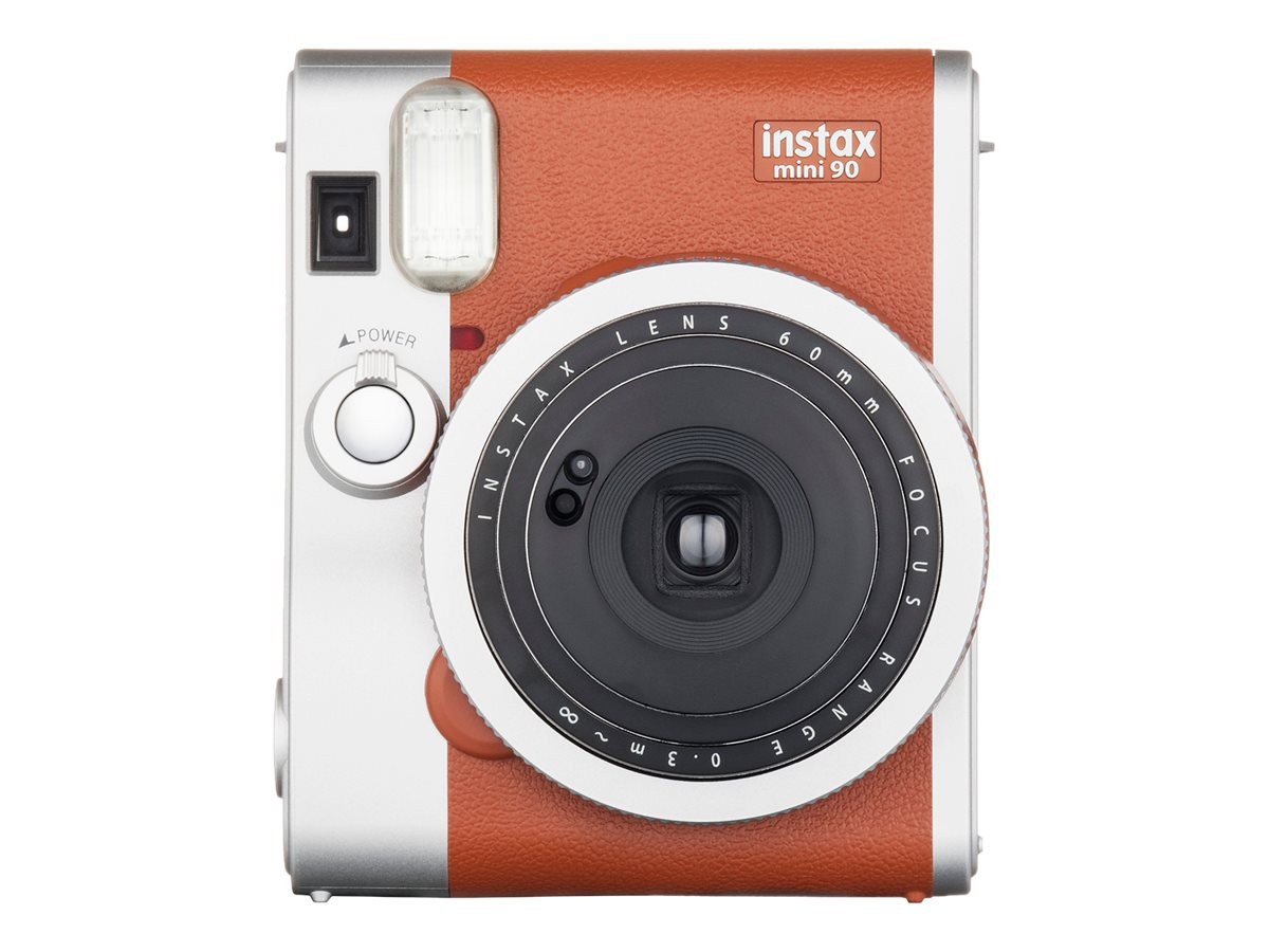 Cadeau Leclerc Génial Pact Instantane Fujifilm Mini 90 Marron Of 37 Élégant Cadeau Leclerc