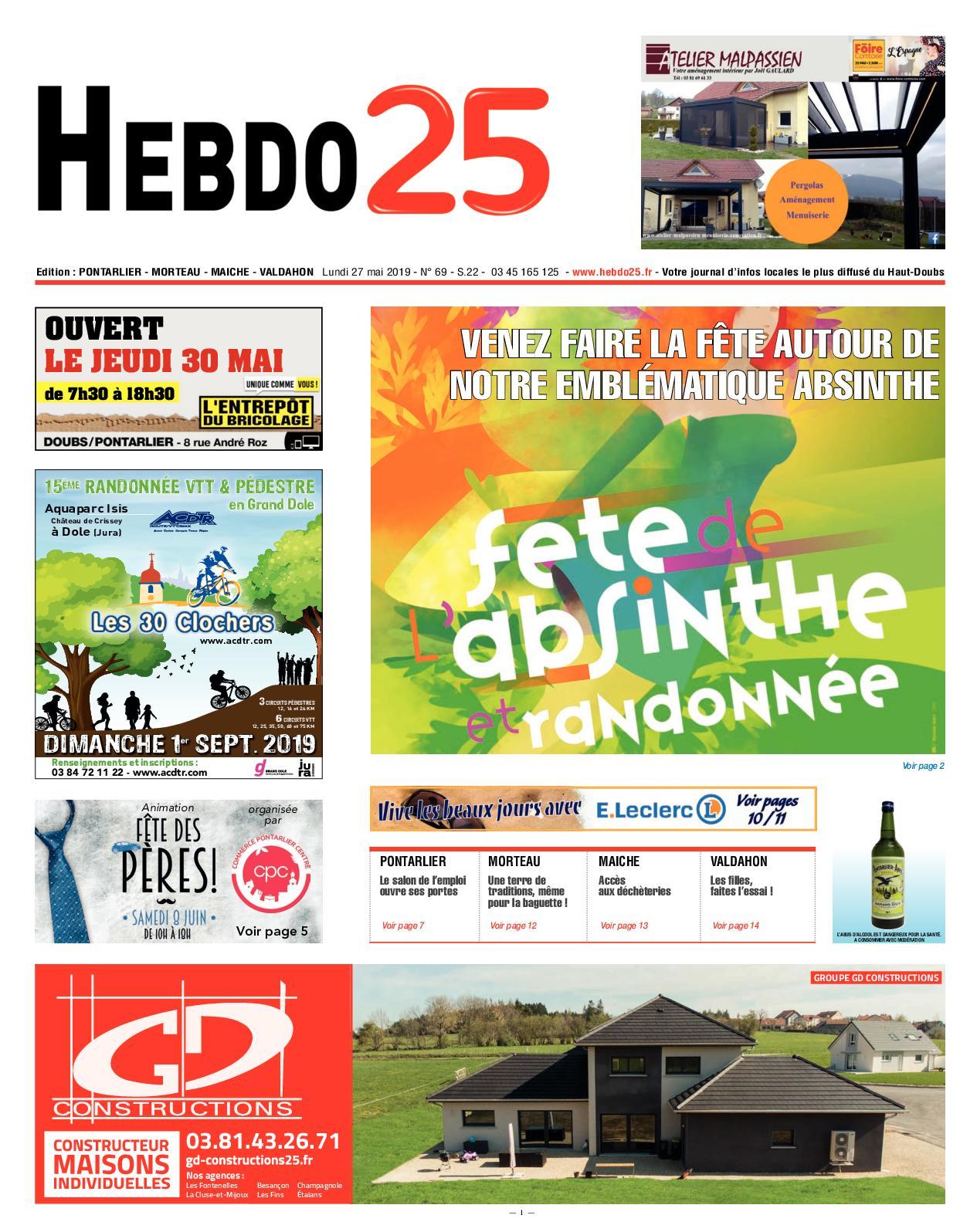 Canapé De Jardin Bois Inspirant Calaméo Hebdo Pontarlier 2019 Semaine 22 Of 38 Beau Canapé De Jardin Bois