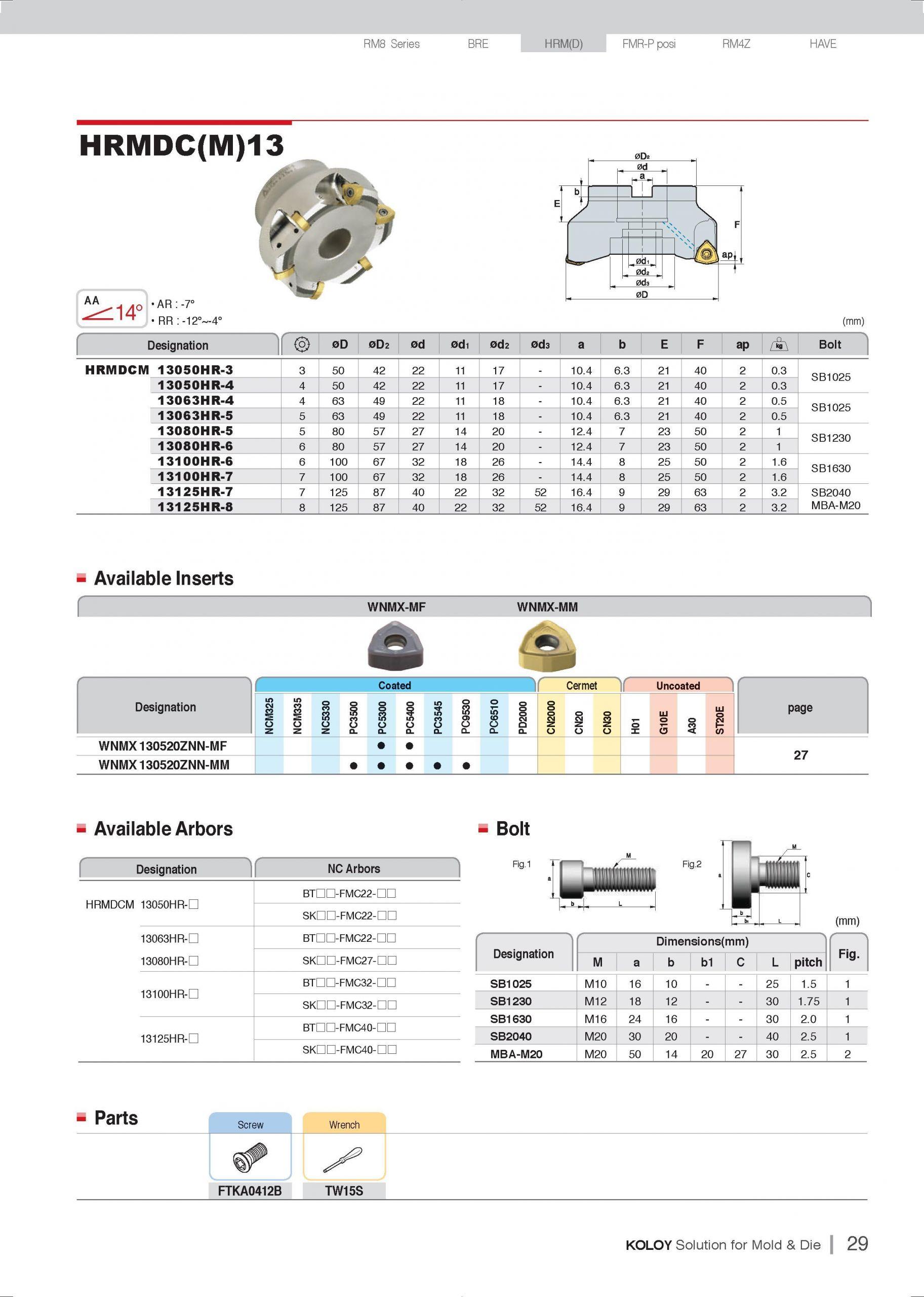 KORLOY 2016 Katalog Instrument dlia metalloobrabotki detalei shtampov i press form 0030b Lab2U