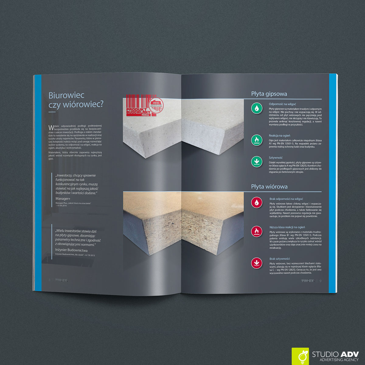 TIMEX A4 brochure Biurowiec 04
