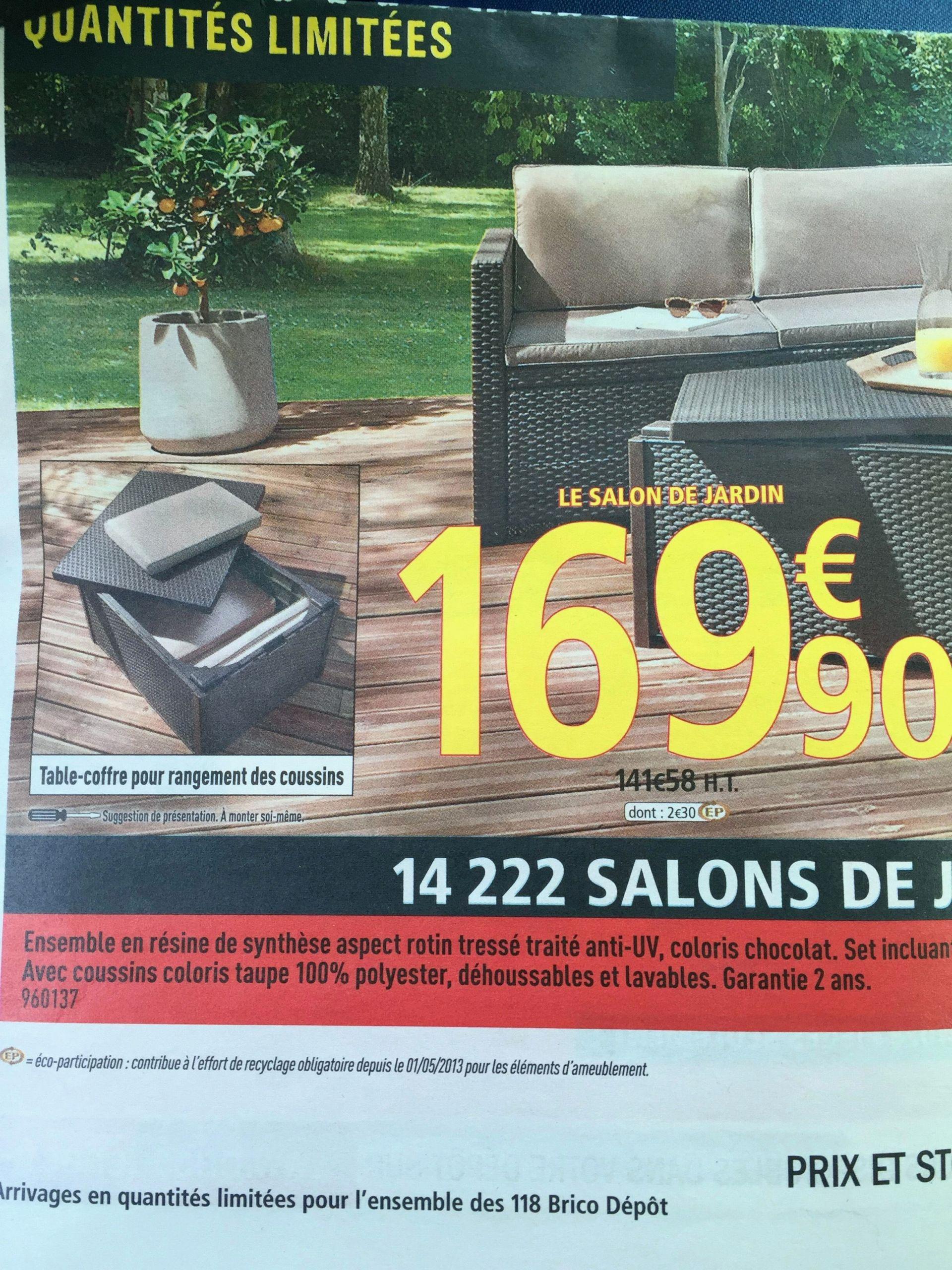 Salon De Jardin Moins De 100 Euros 28 charmant cdiscount salon jardin | salon jardin