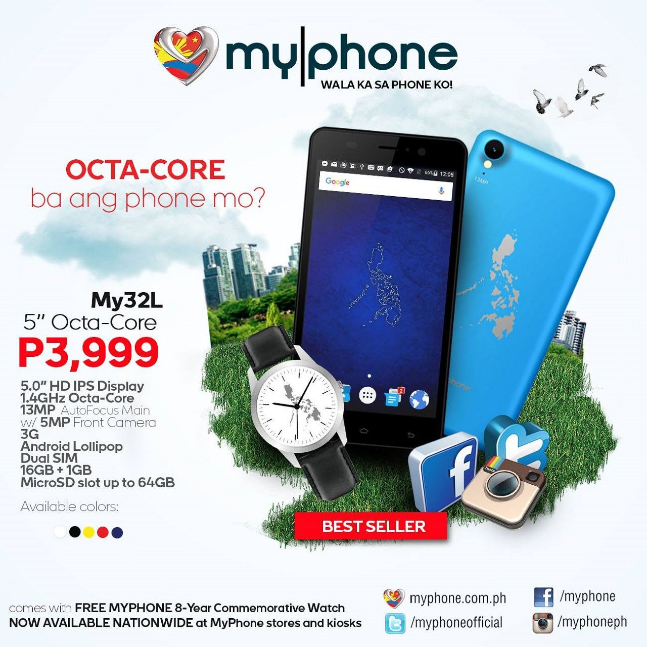 Cdiscount Smartphone Nouveau Myphone My32l with Octa Core soc In Philippine for PHP 3999 Of 32 Élégant Cdiscount Smartphone