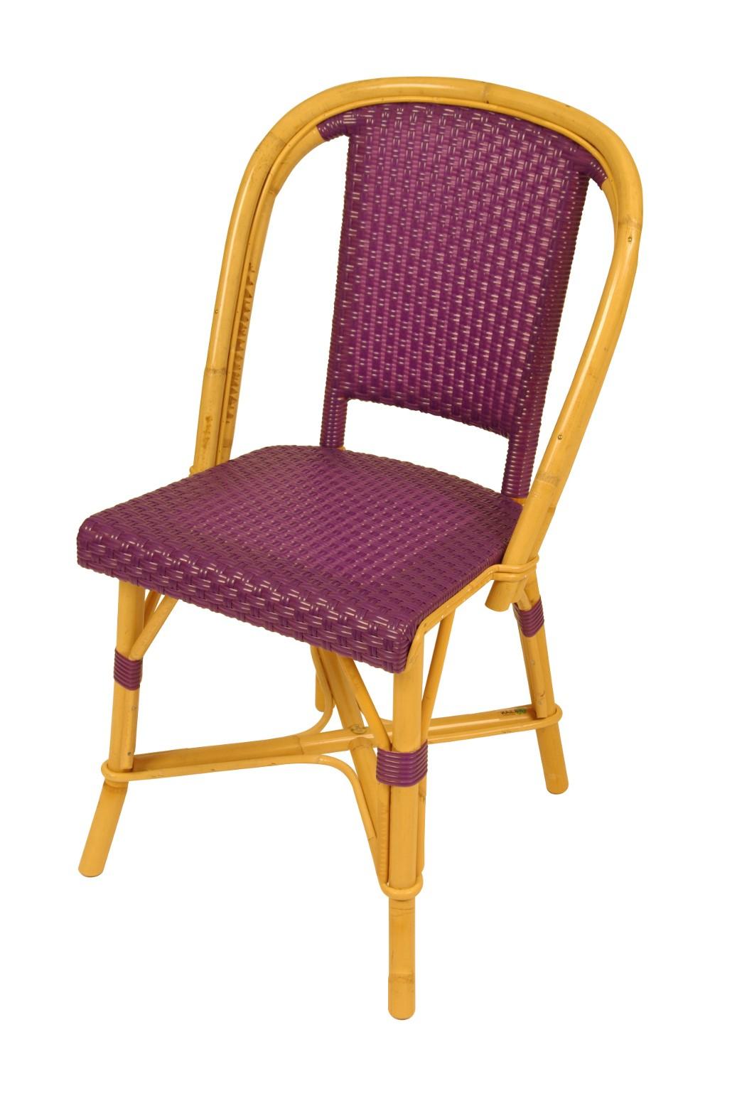 Chaise bistrot rotin pas cher g nial chaise terrasse - Salon de jardin bistrot pas cher ...