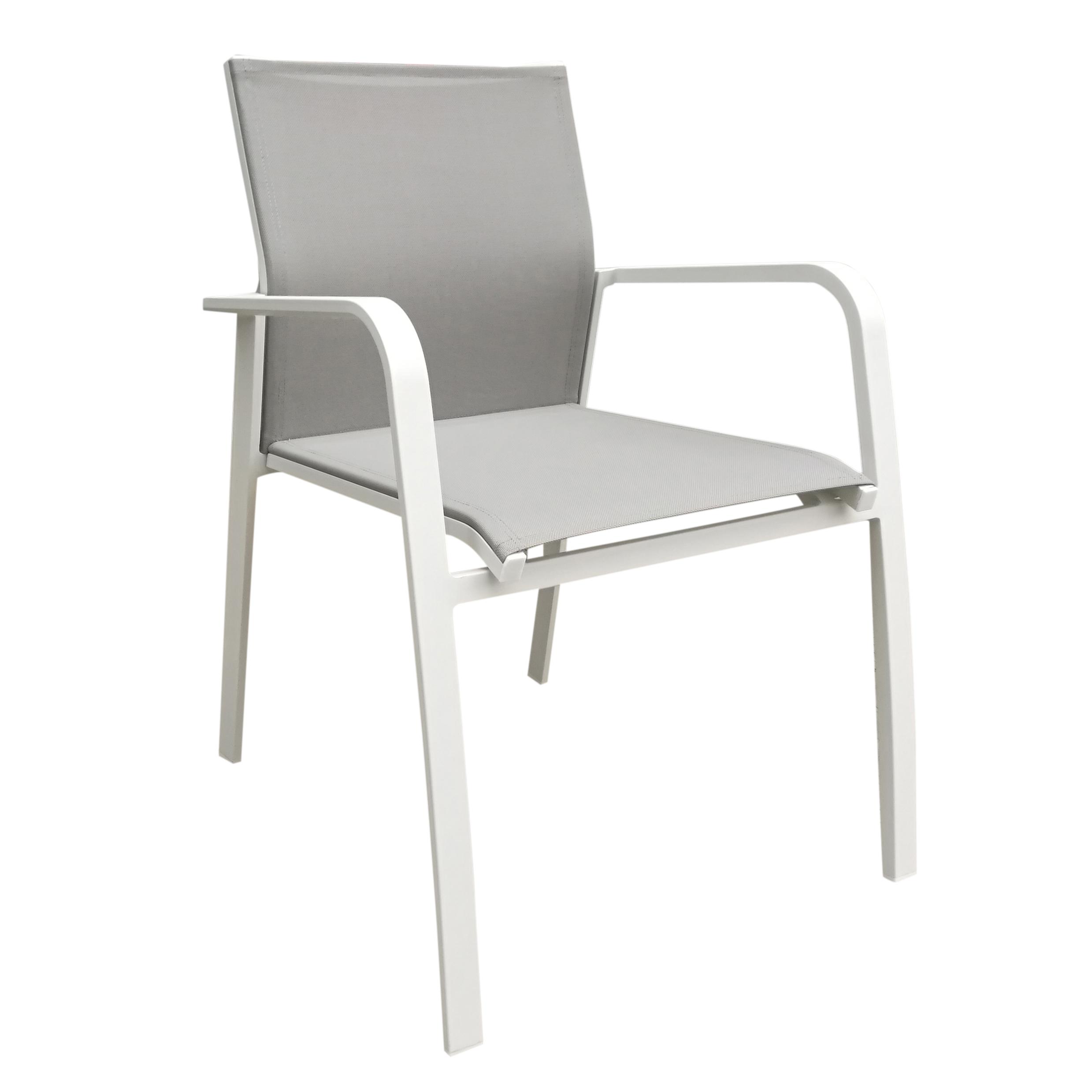 Chaise De Jardin Aluminium Charmant Chaise Jardin Alu Blanc