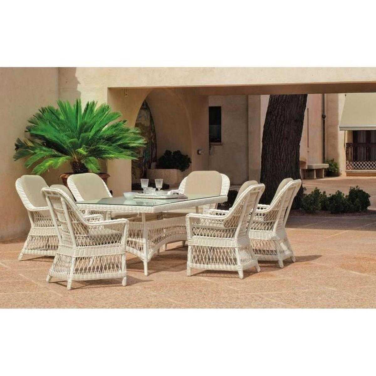 Salle A Manger De Jardin En Resine Tressee 33 inspirant chaise de jardin en résine tressée | salon jardin