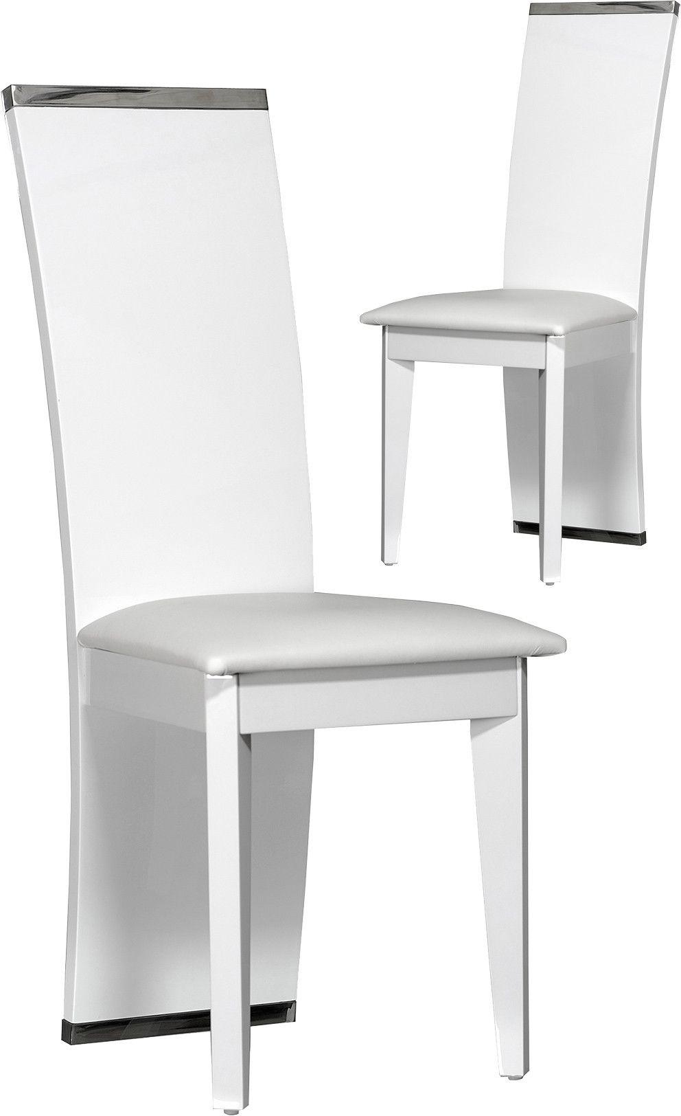 Chaise De Table A Manger Beau Lot De 2 Chaises Salle   Manger Design Blanc En 2019 Of 24 Unique Chaise De Table A Manger