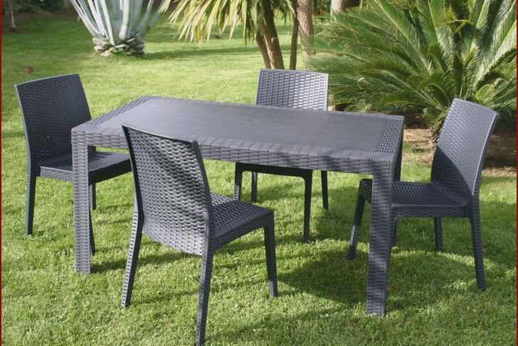 Chaise De Table Élégant Chaises Luxe Chaise Ice 0d Table Jardin Resine Lovely