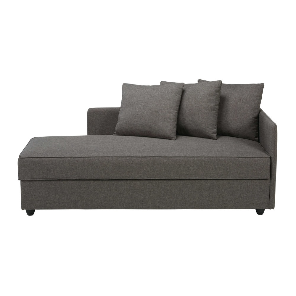 Chaise Longue De Salon Best Of Grey Fabric Chaise Longue