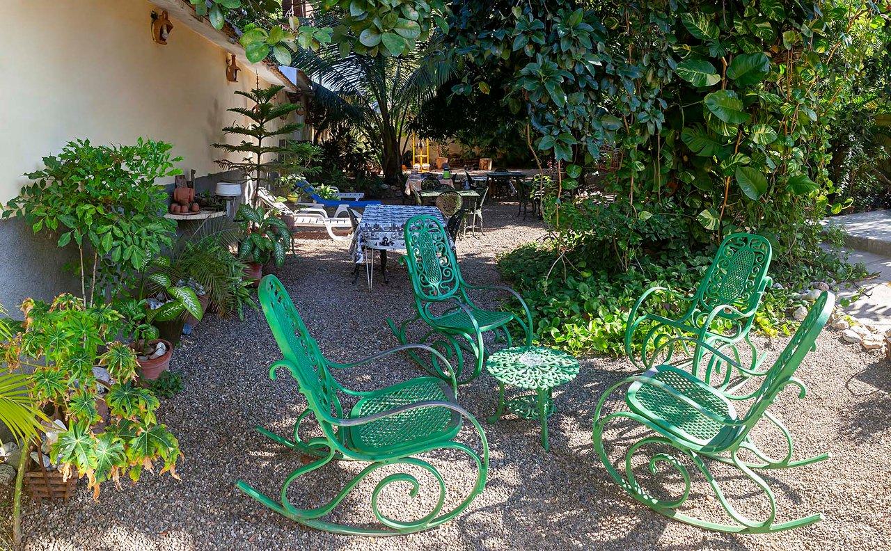jardin donde puede disfrutar