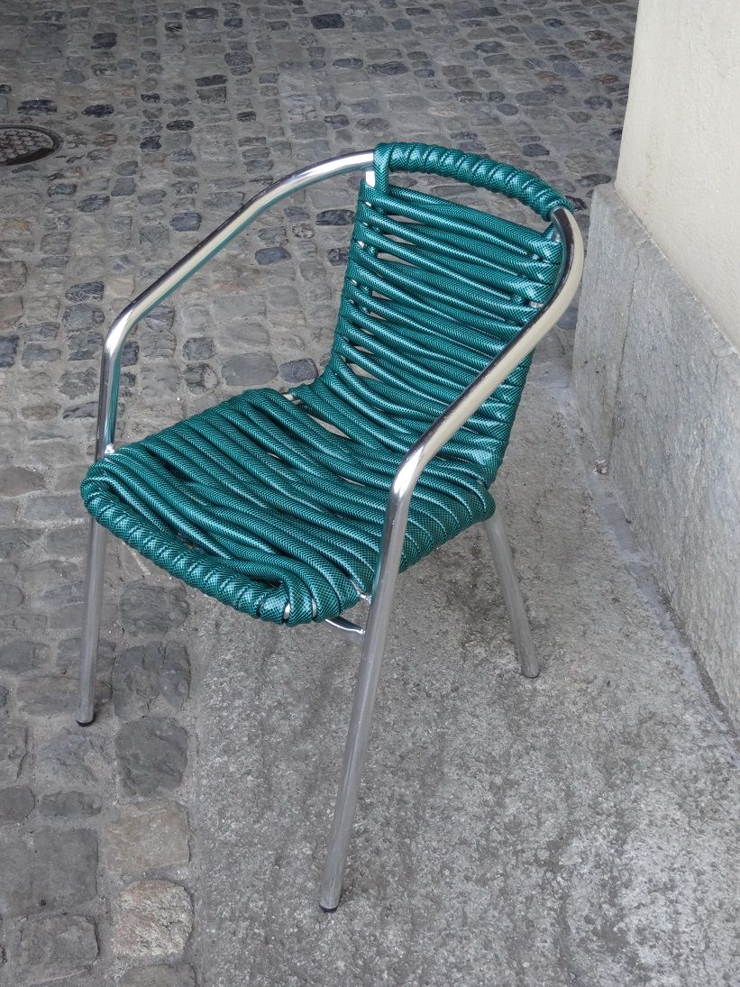 Chaise Pliante Exterieur Charmant Water Cooled Hose Chair Refurbished From Old Garden Chair Of 26 Nouveau Chaise Pliante Exterieur