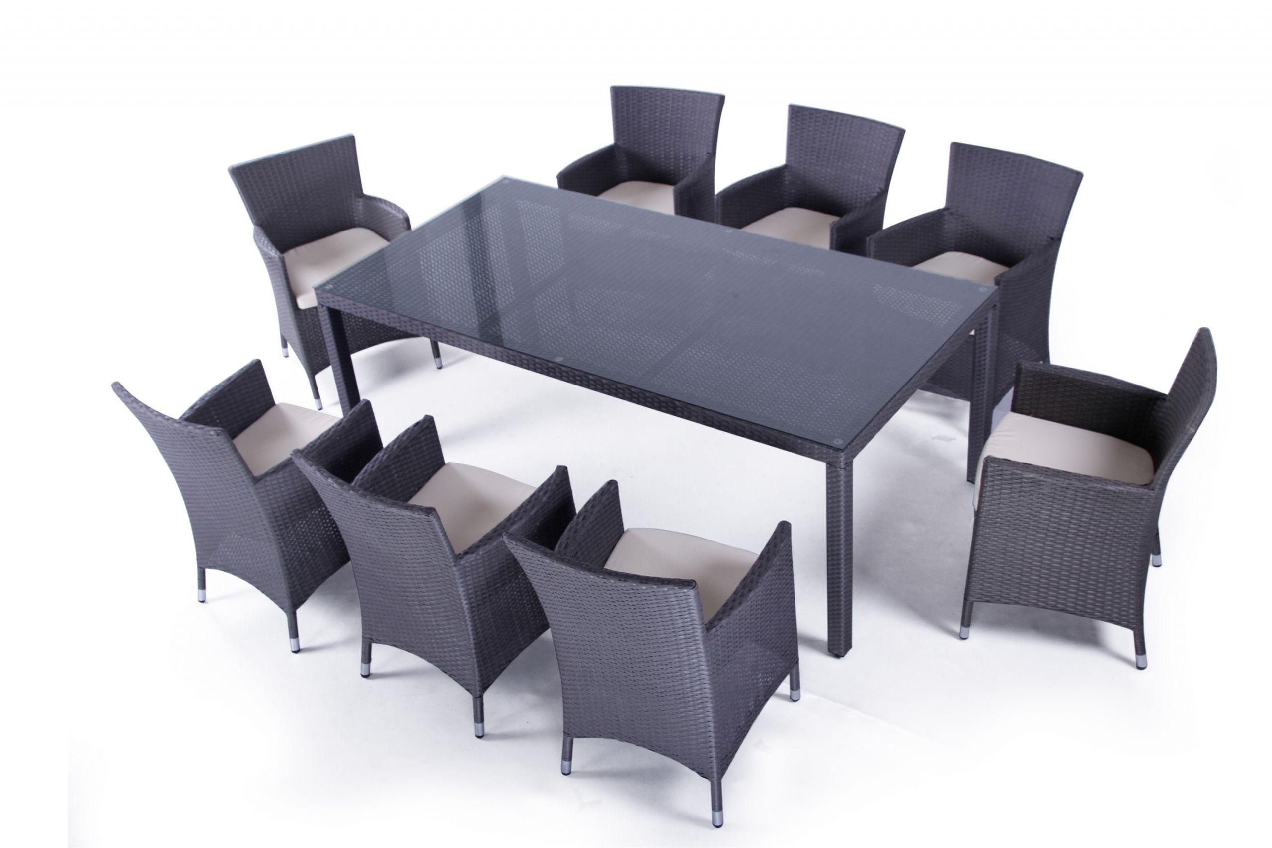 ensemble table et chaise de jardin en resine pas cher 2