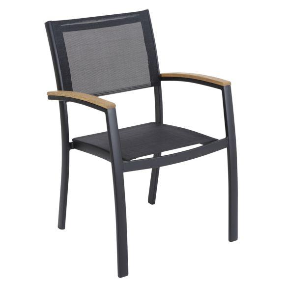 carrefour fauteuil de jardin louga noir pas cher achat vente chaise