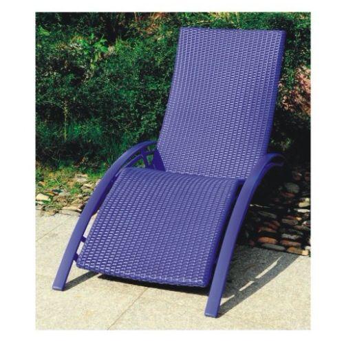 chaise longue bain de soleil aluminium