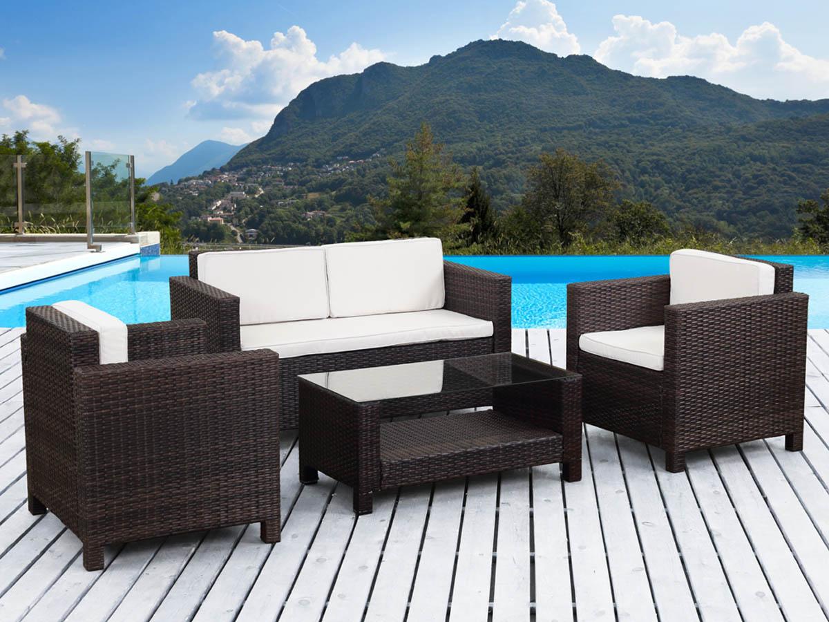 ides de fauteuil resine tressee de terrasse pas cher galerie dimages