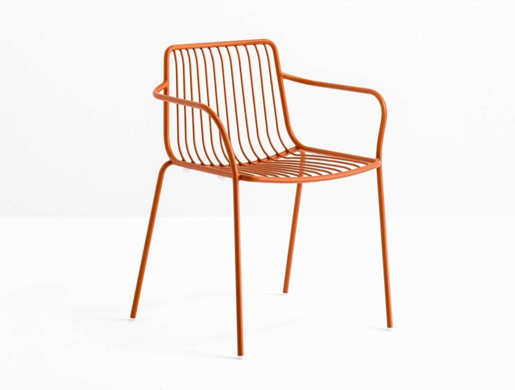 couleur dans un salon luxe et chaise metal couleur chaise dessin chaise pedrali 0d 1024x776