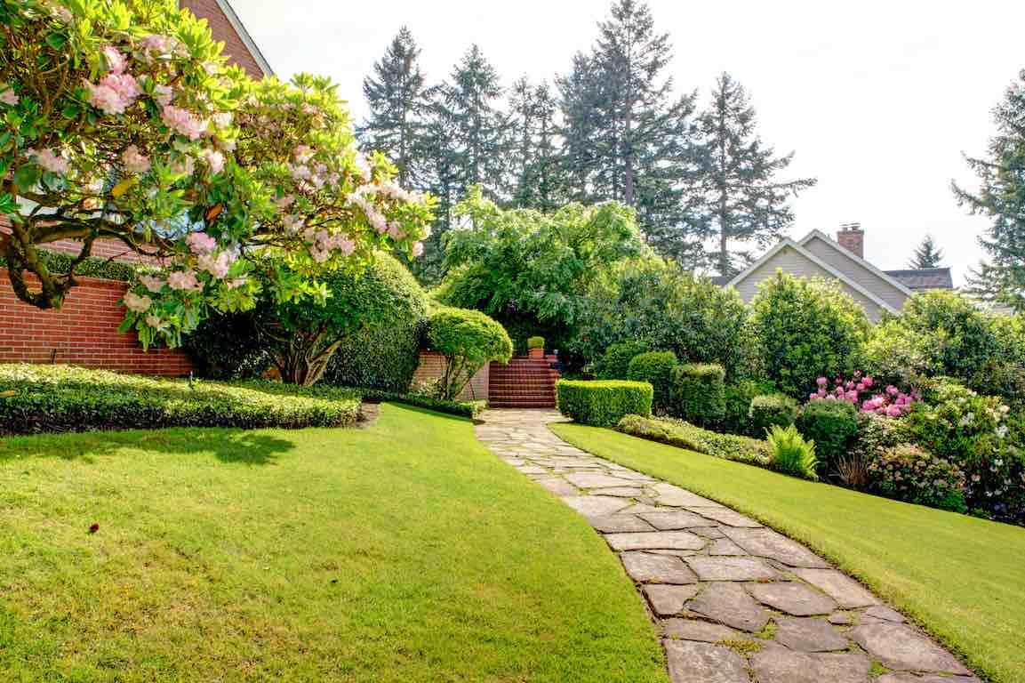 grand jardin pente