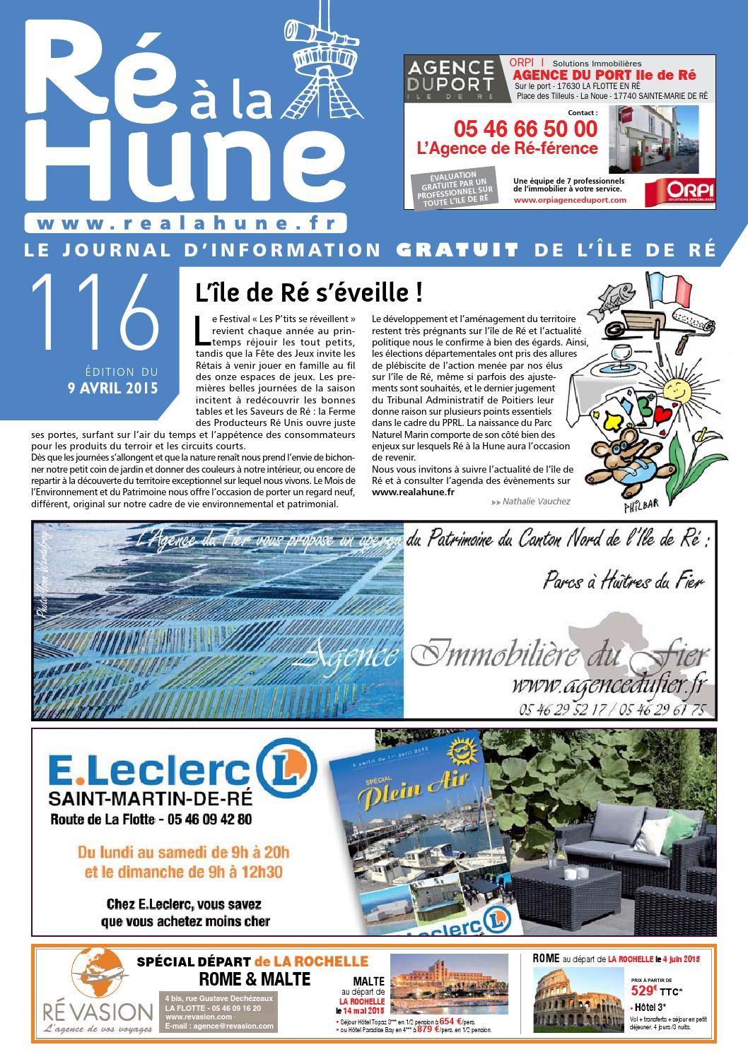 E Leclerc Livraison Élégant Ré  La Hune N° 116 by Rhea Marketing issuu Of 28 Beau E Leclerc Livraison