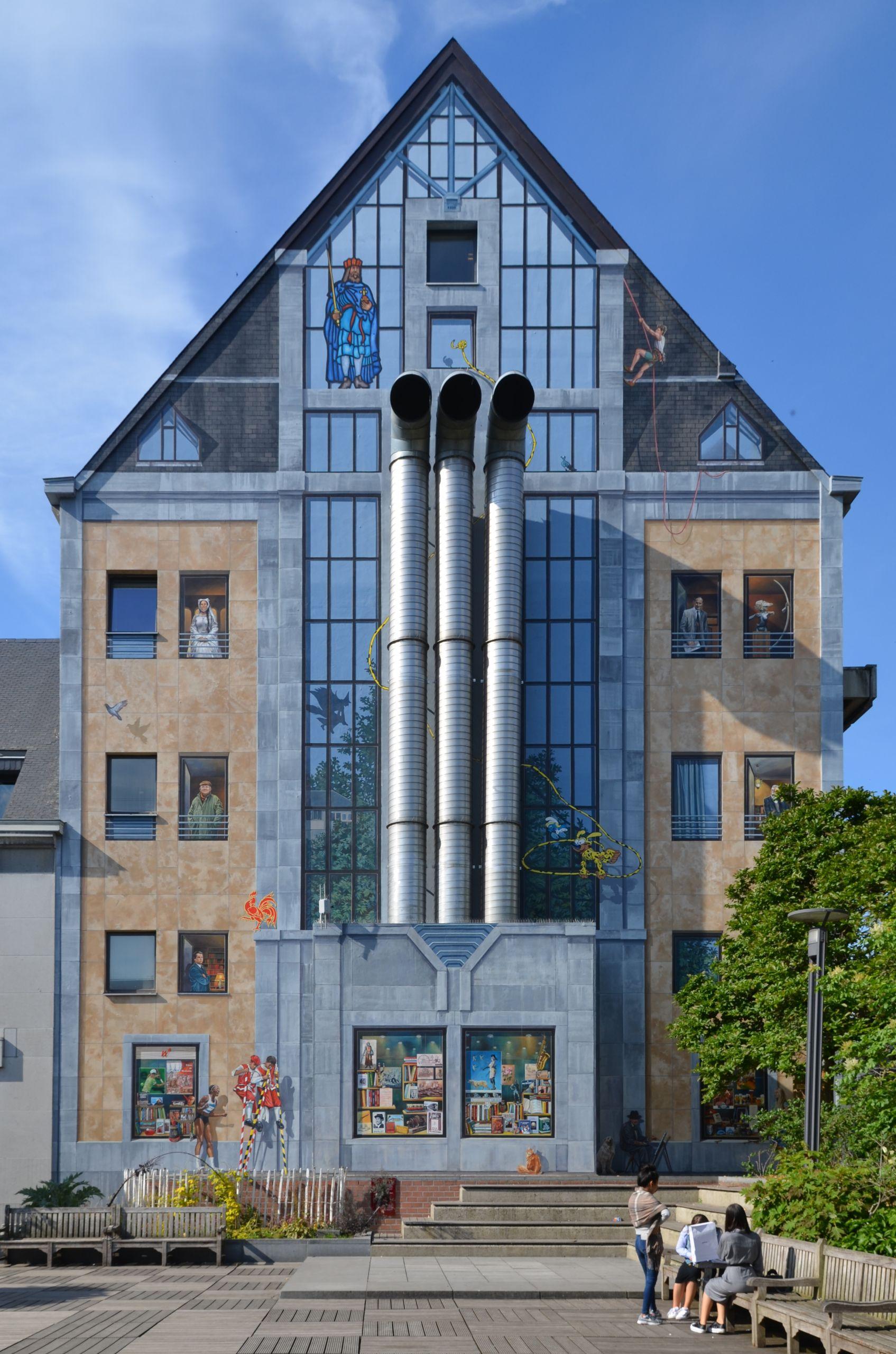 Namur La fresque des Wallons 2018 28 ensemble