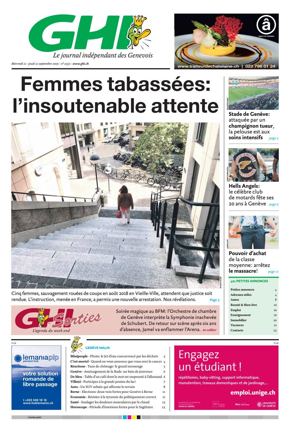 Ensemble De Jardin Pas Cher Élégant 2019 09 12 by Ghi & Lausanne Cités issuu Of 26 Nouveau Ensemble De Jardin Pas Cher