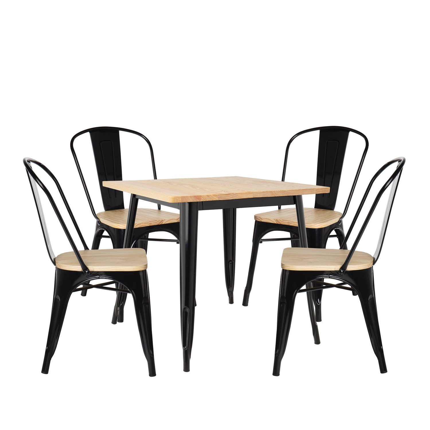 Ensemble Table Et Chaise De Jardin Best Of Lot De Table Lix Bois 80×80 & 4 Chaises Lix Bois Of 36 Beau Ensemble Table Et Chaise De Jardin